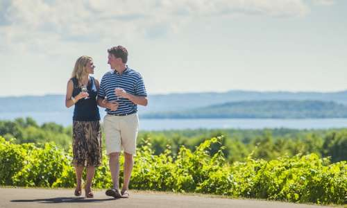 Romantic getaway at Chateau Chantal in Traverse City, MI