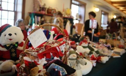 Winter gift shop on Mackinac Island