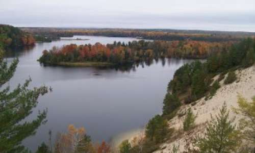 Scenic byways in the Upper Peninsula