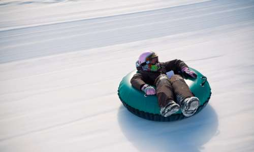 Sledding and Snow Tubing Spots in Pure Michigan