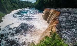 Tahquamenon Falls in the Upper Peninsula