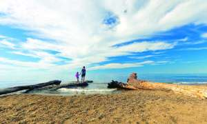 Upper Peninsula beach on Lake Superior