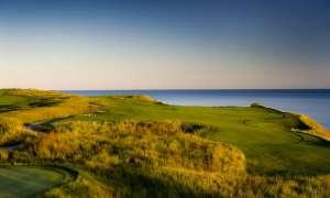 Bay Harbor Golf Club course near the coast