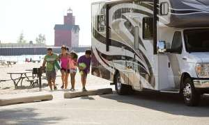 michigan full hook up campgrounds
