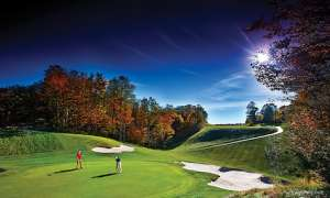 Treetops Golf Course in Gaylord, MI.