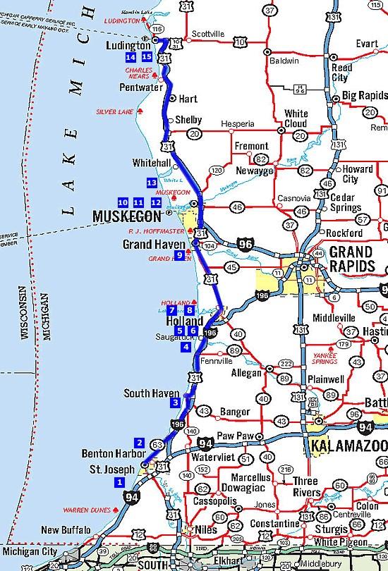 Exploring Michigan S Beachtowns