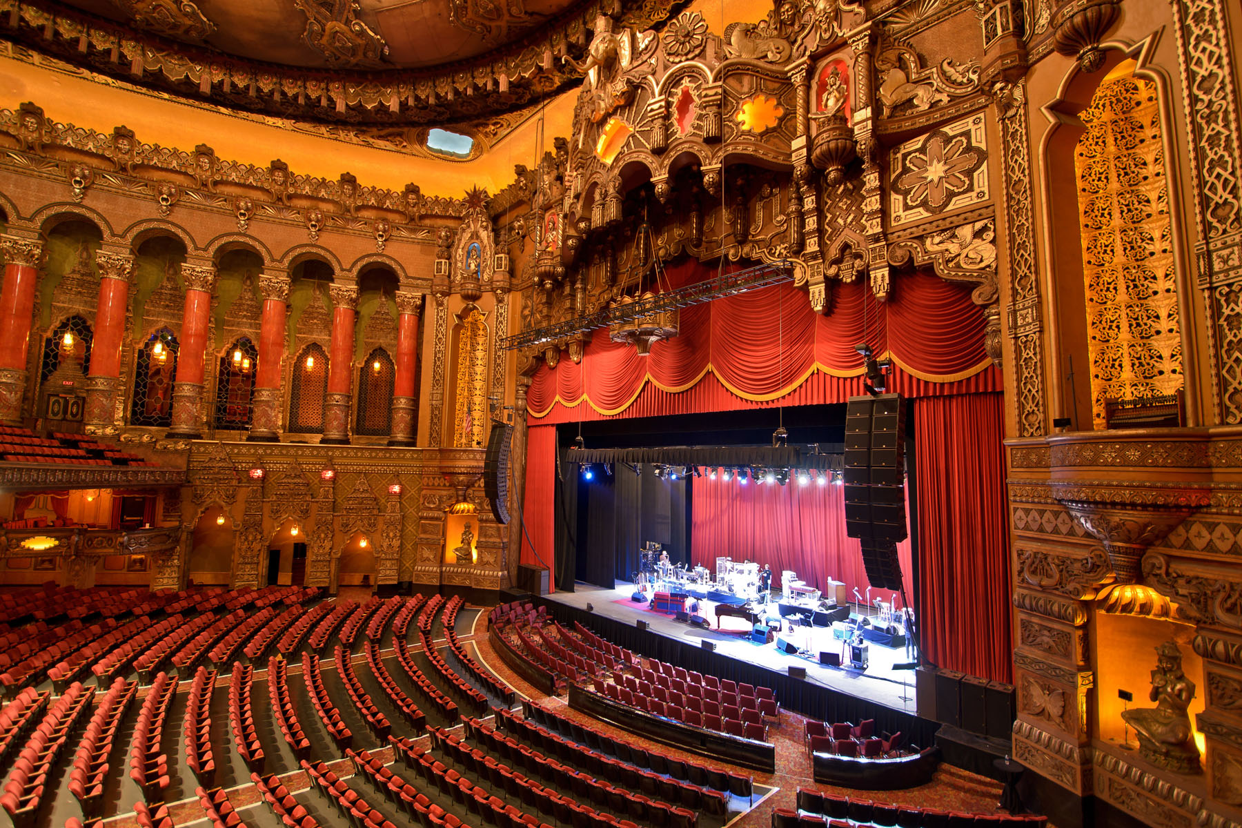 Fox theater detroit seating chart orchestra pit for Balcony history
