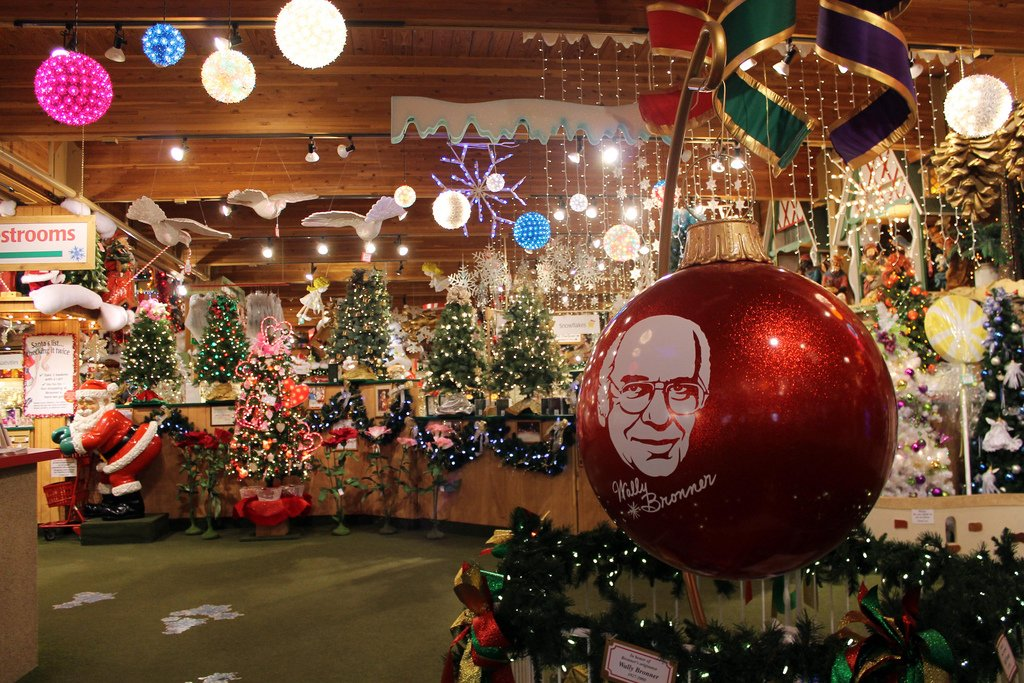 Things You Didnt Know About Bronners The Worlds Largest - 6 christmas attractions you can visit year round