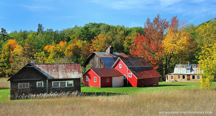 The Bufka Farm - Sleeping Bear Dunes National Lakeshore - 8 Rustic Michigan Barns Worth A Photograph Michigan