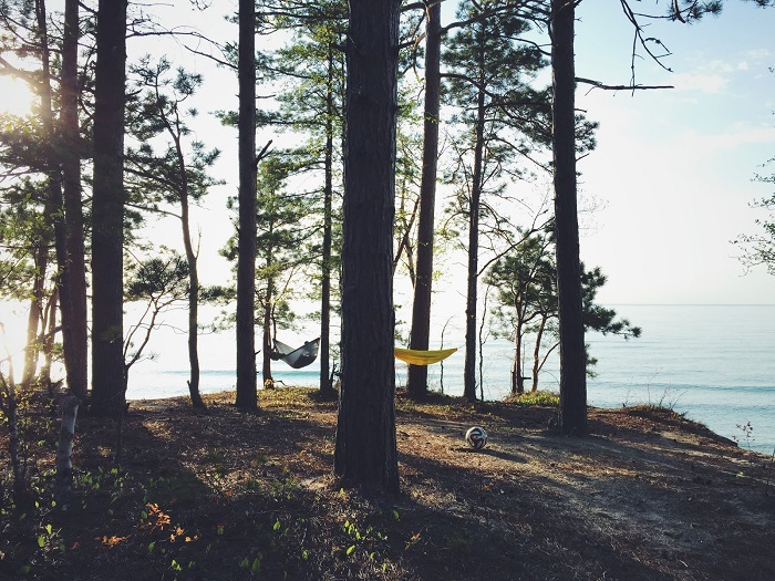 12 Mile Beach Campground Grand Marais