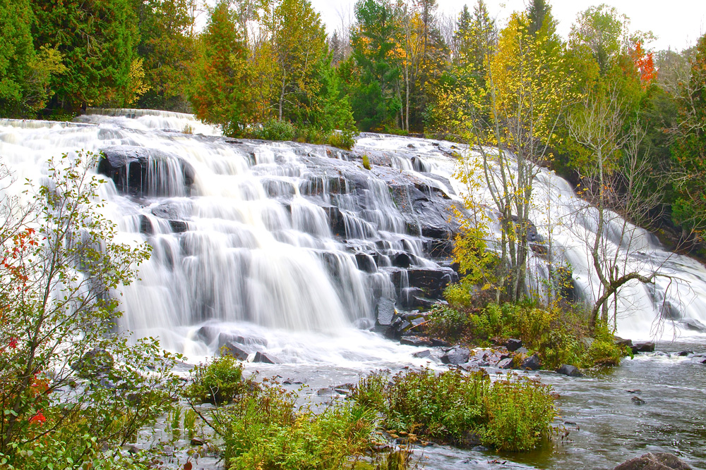 Bond Falls in Ottawa National Forest, Photo Courtesy of Pure Michigan