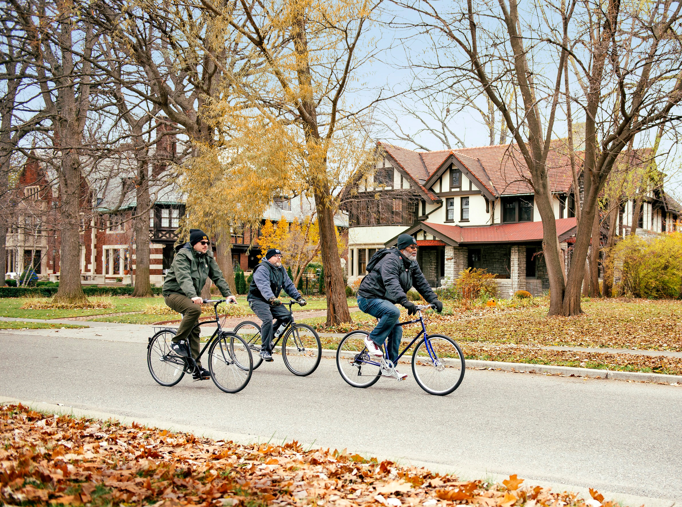 Boston-Edison Neighborhood in Detroit