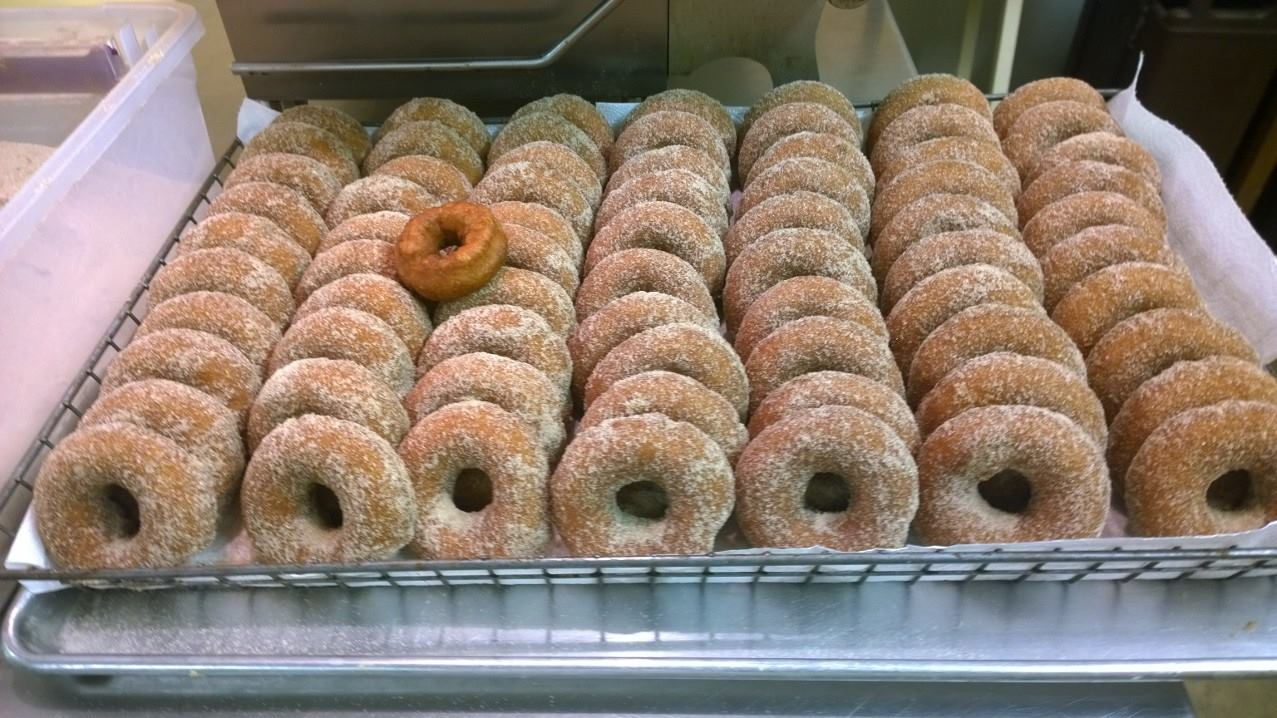 Donuts from the Dexter Cider Mill