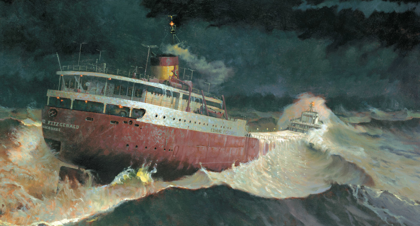 Echoes Of The Edmund Fitzgerald Michigan