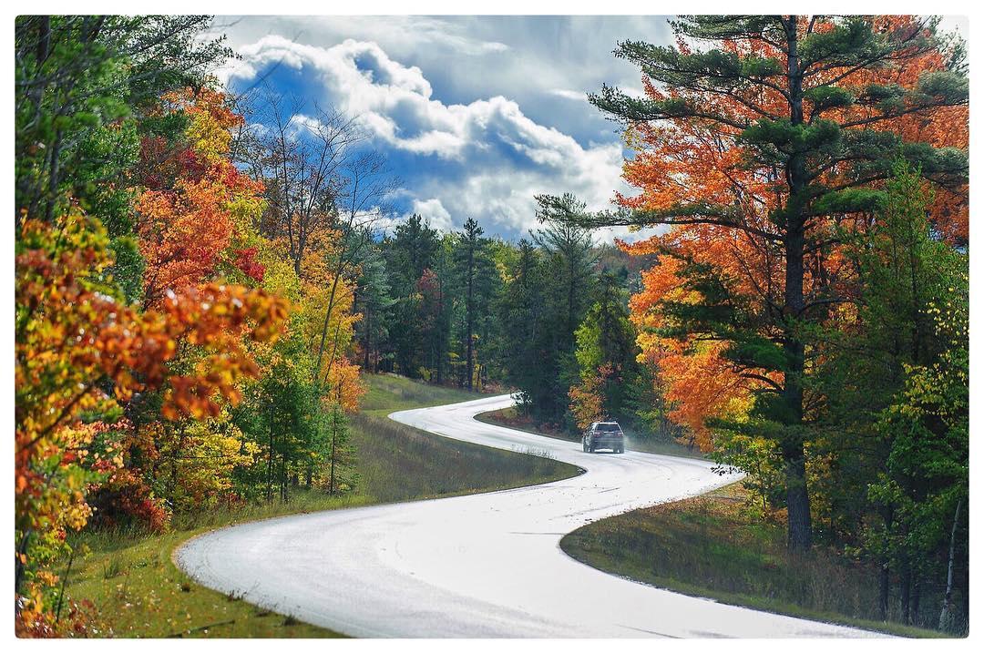 beautiful fall scenic view - photo #15