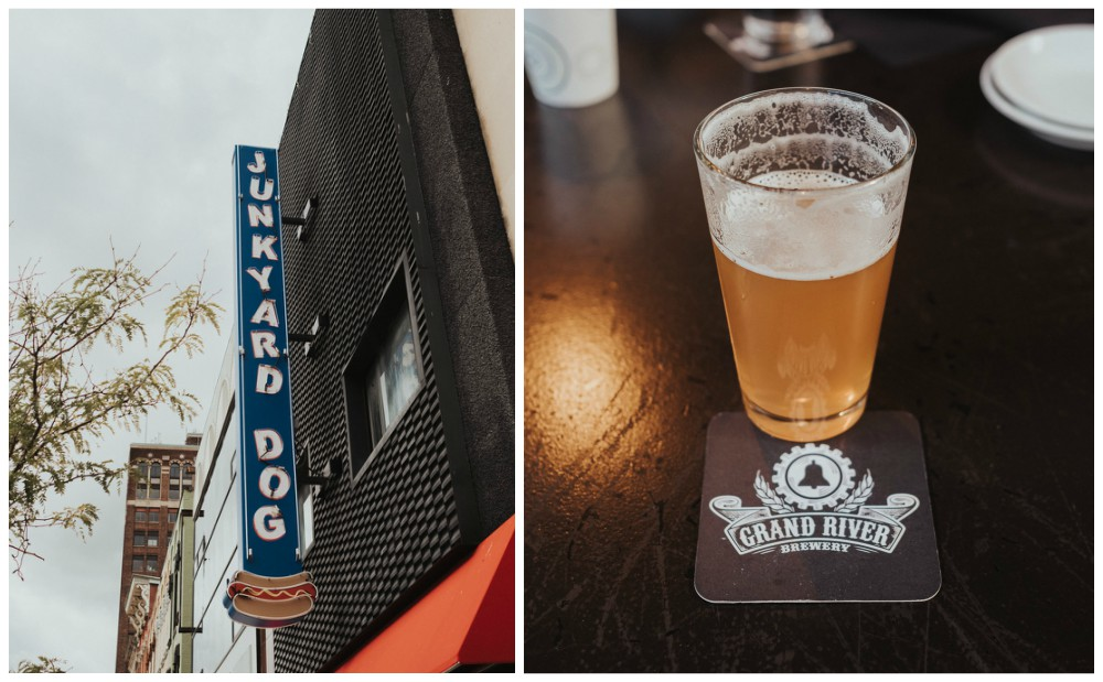 Junkyard Dog & Grand River Brewery