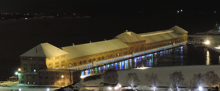 Light Up The Soo in Sault Sainte Marie Michigan