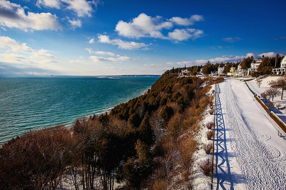 Mackinac Island in Winter