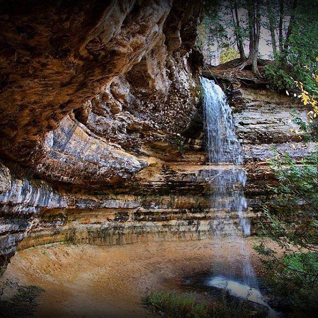 A List Of Enchanting Michigan Waterfalls To Visit Year