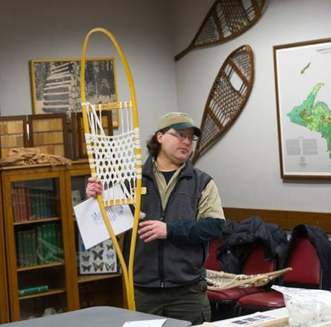 Learn how to make snowshoes