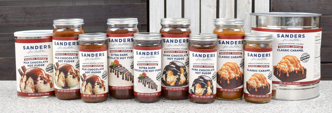 Sanders Candy Toppings