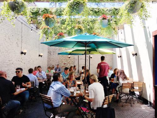 Local S Guide To Outdoor Patio Dining In Grand Rapids