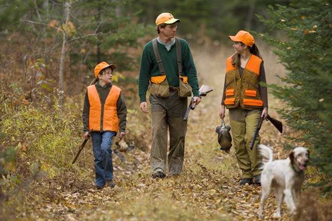 A guide to grouse and woodcock hunting in michigan michigan for Lifetime fishing license ok