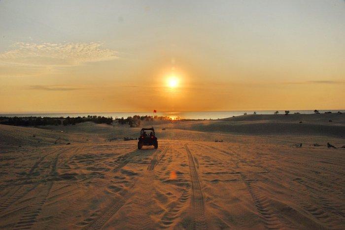 ATV at Silver Lake Sand Dunes