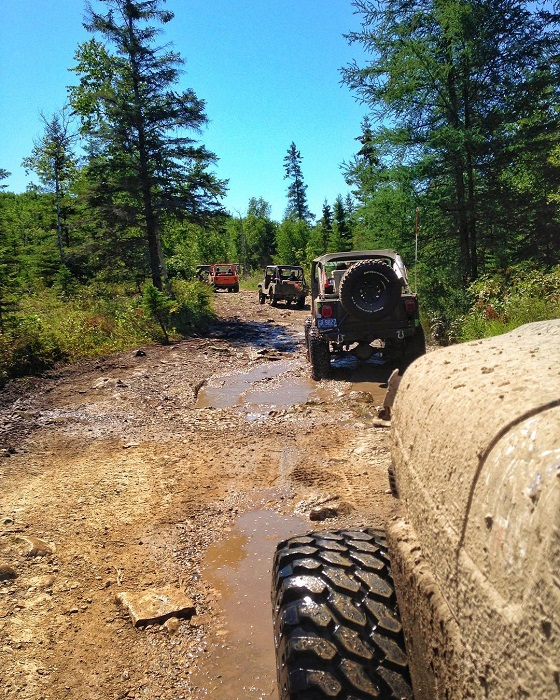 ATV Trail on Drummond Island
