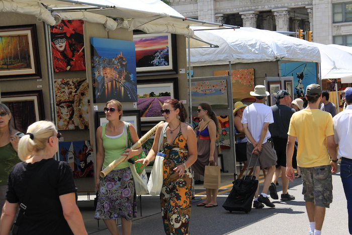 Art Fair in Ann Arbor