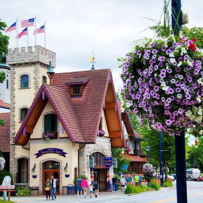 Bavarian Inn Castle Shops in Frankenmuth