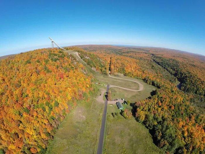 Copper Peak in Michigan's Western Upper Peninsula