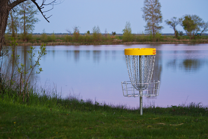 Disc Golf at Ludington Park