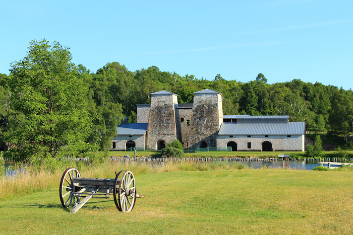 Fayette Historic State Park Cannon