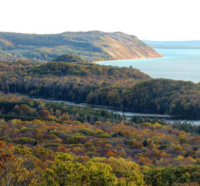 North Bar Lake at Sleeping Bear Dunes