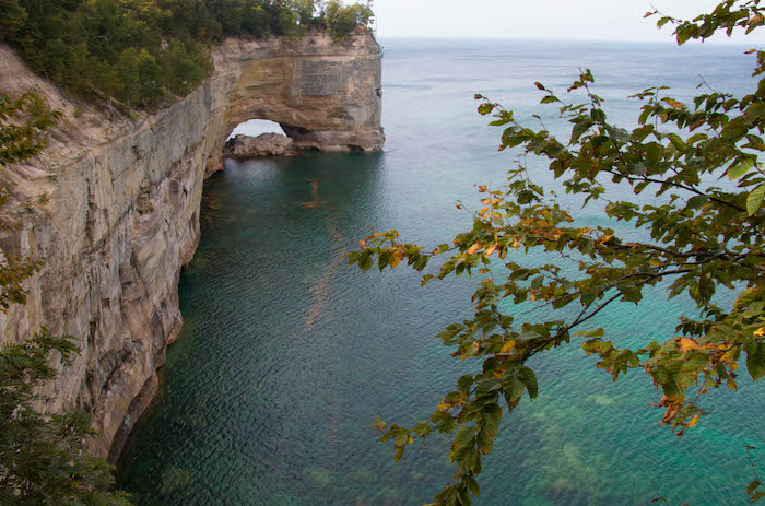 Pictured Rocks Chapel Loop Trail