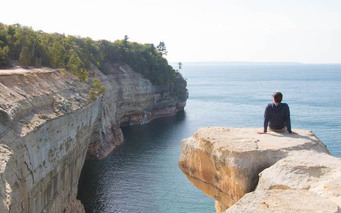 Grand Portal Point at Pictured Rocks National Lakeshore