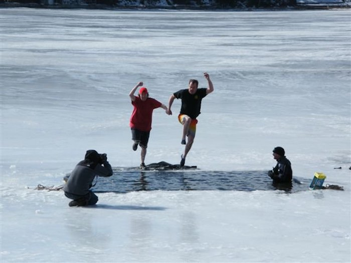 Polar Dip at Pentwater's Winterfest