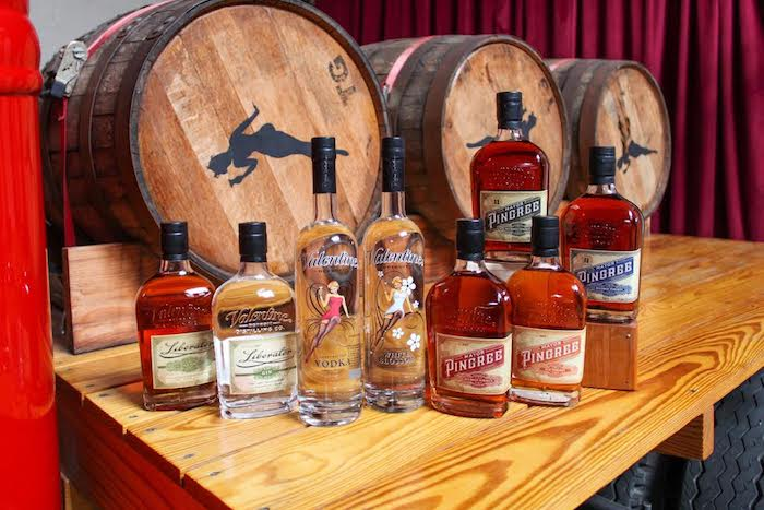 Valentine Distilling Products