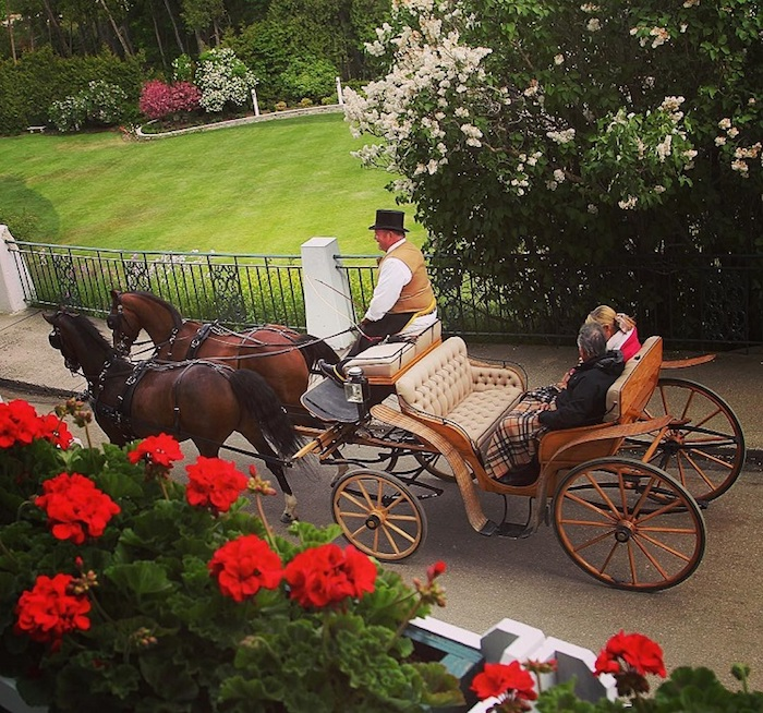 Carriage Ride from the Grand Hotel