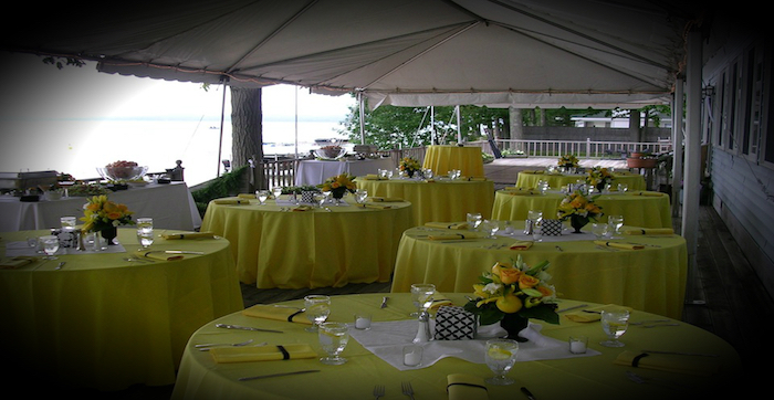 Wedding at Churchill Pointe Inn