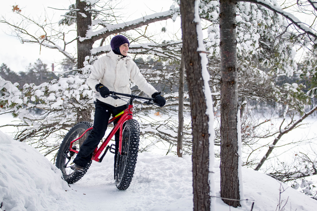 fat tire biking in marquette