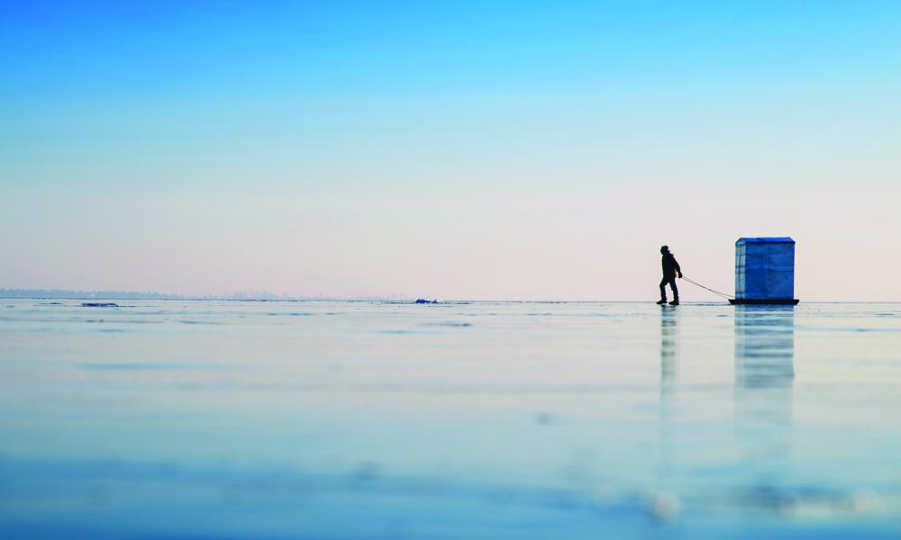 Finding the perfect ice fishing spot