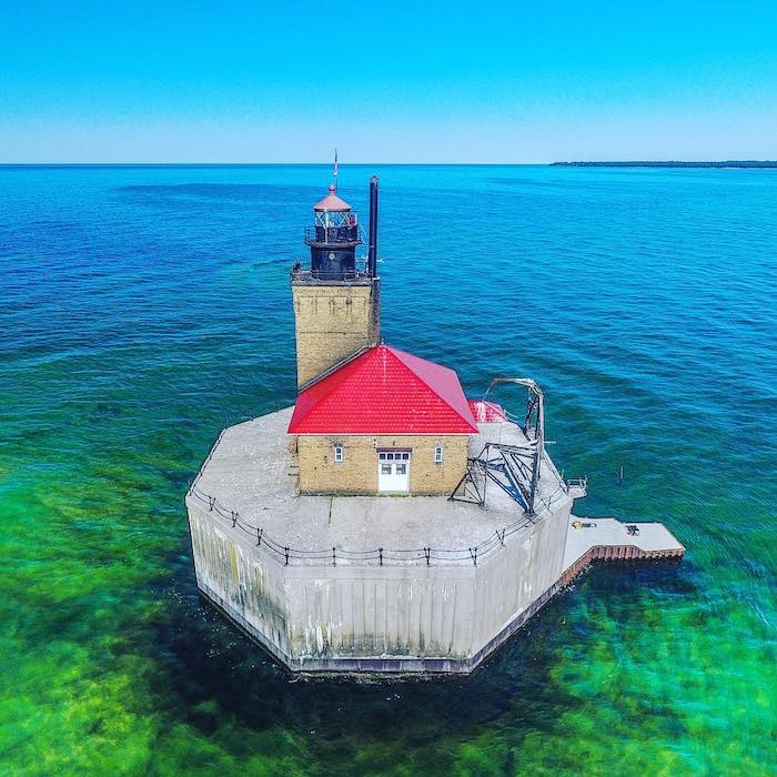 Beautiful Lighthouses in Michigan Worth a Visit | Michigan