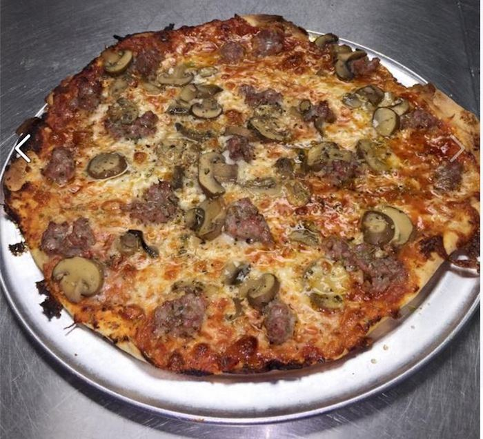 Sausage Pizza from Fricano's Pizza