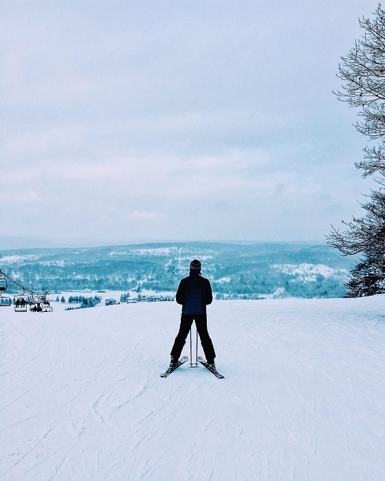 Skiing at Boyne Mountain