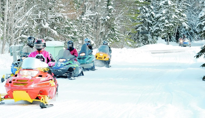 Snowmobiling in Sault Ste. Marie