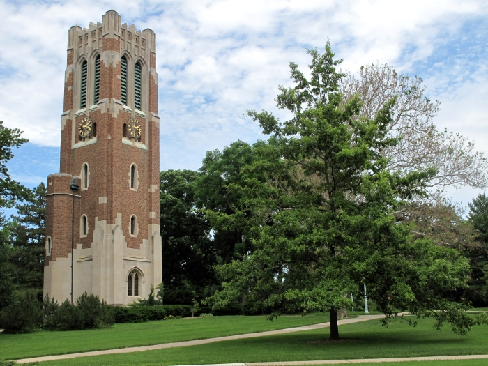Beaumont Tower in the summer