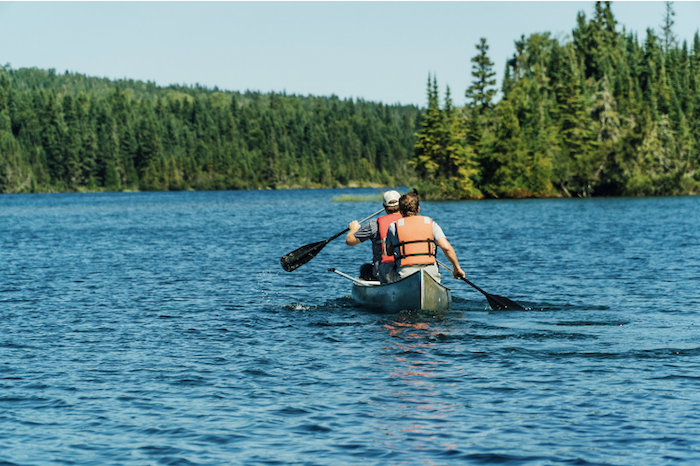 Canoeing on Isle Royale