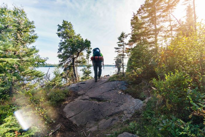 Backpacking on Isle Royale